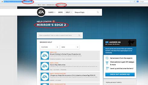 Electronic Arts работает над Mirror's Edge 2?