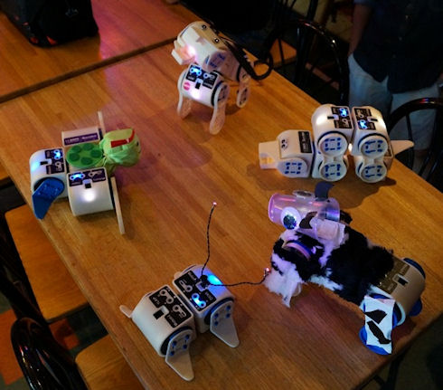 Linkbot – оригинальный модульный робот
