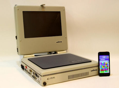 WalkMac – раритетный ноутбук Apple
