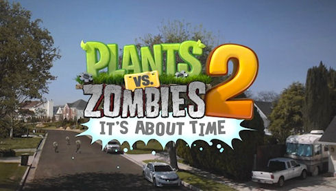 Plants vs. Zombies 2 уже в июле!