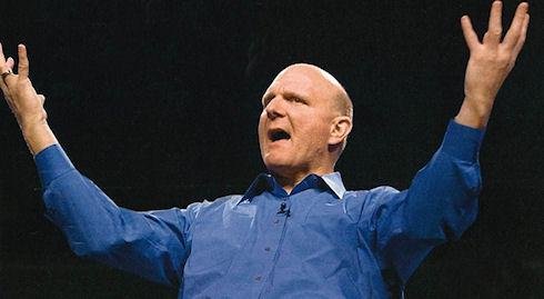 Стив Балмер «создает» новую Microsoft