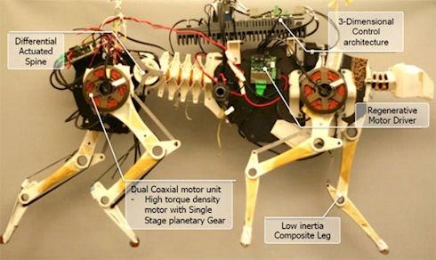 В США создан очередной робот-гепард
