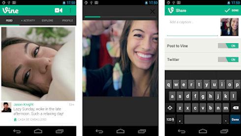 Twitter выпустил приложение Vine для Android
