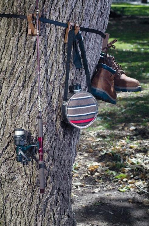 Cinch To Hang – экологичная «вешалка»