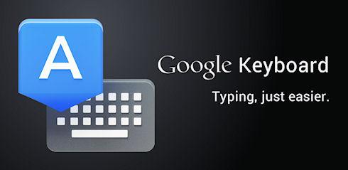 Клавиатура Google доступна в Google Play