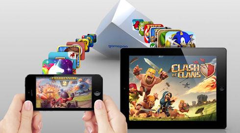 Игровая консоль GamePop для игра под Andorid и iOS