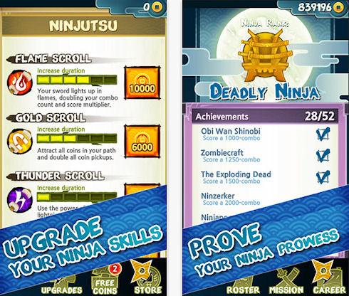 Ninja Slash – идеальный зомби-ранер