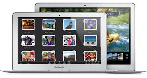 Поступили в продажу новые ультрабуки Apple MacBook Air