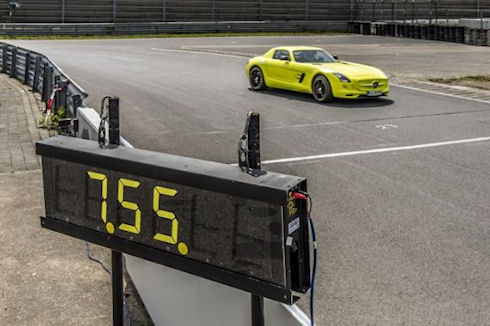 Mercedes SLS AMG E-Drive – самый быстрый серийный электрокар