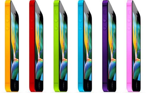 Apple выпустит «цветной» iPhone за 99 долларов
