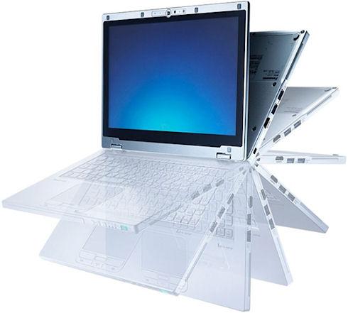 Гибридный компьютер Panasonic AX3
