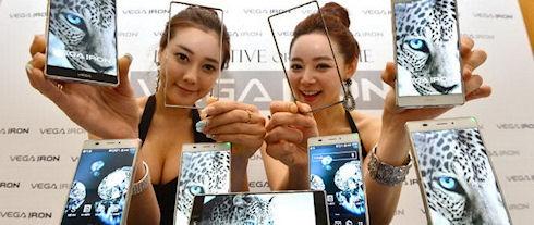 В 2014 году появятся мобильные дисплеи с разрешением 2560х1600 пикселей