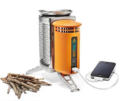 BioLite CampStove – «огненный» генератор энергии