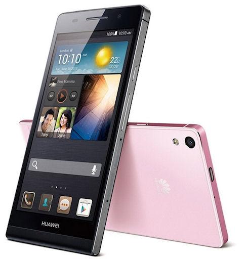 Huawei Ascend P6 – дизайн «будущего»!