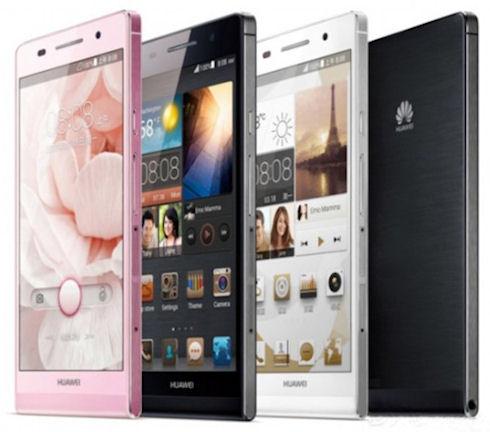 Huawei Ascend P6 – тонкий и мощный смартфон