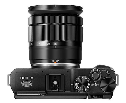 Fujifilm XM1 – новая беззеркалка с модулем Wi-Fi
