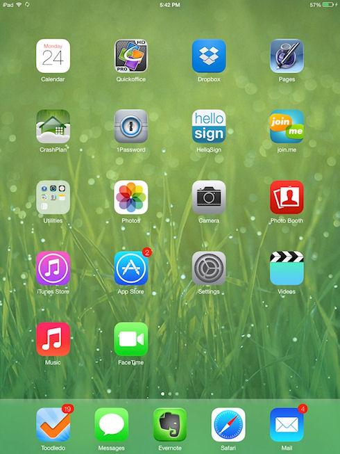 Apple объявила о выходе второй бета-версии iOS 7