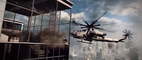 DICE показала новый ролик про Battlefield 4