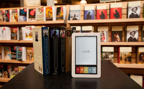 Barnes & Noble останавливает производство планшетов Nook