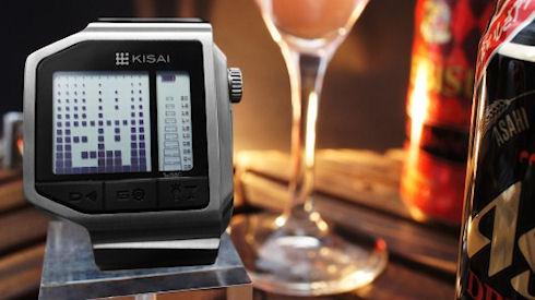 Kisai Intoxicated – часы с анализатором алкогольного опьянения
