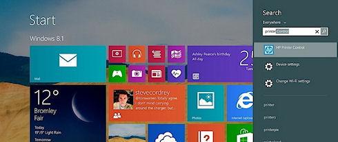 Windows 8.1: кнопка «Пуск» возвращается