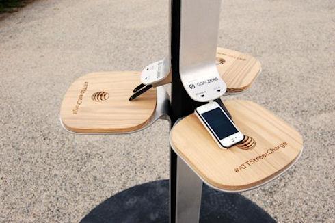 Бесплатные солнечные зарядки для мобильных