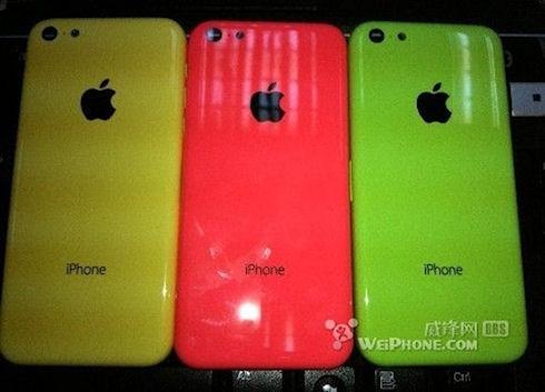 Фотографии цветного iPhone просочились в Интернет