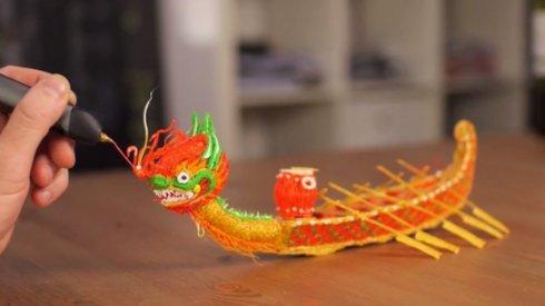 3Doodler 2.0 - ручка с сюрпризом в виде 3D-принтера