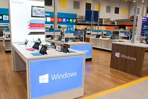 Microsoft объявила о 100 тыс приложений в Windows Store