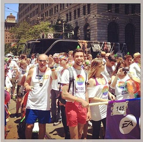Марк Цукерберг принял участие в гей-параде в Сан-Франциско
