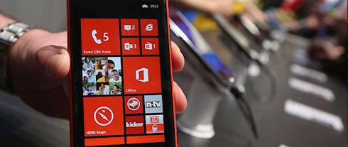 «Золотой» дизайн Nokia Lumia на IDEA 2013