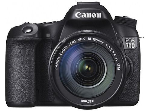 Зеркальная камера EOS 70D с Wi-Fi