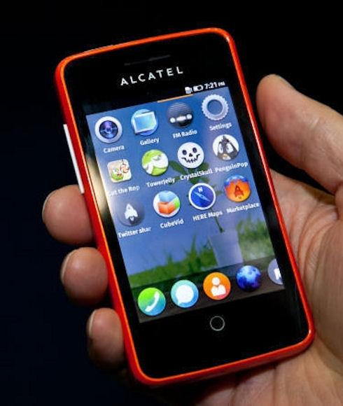Смартфоны с Firefox OS поступили в продажу