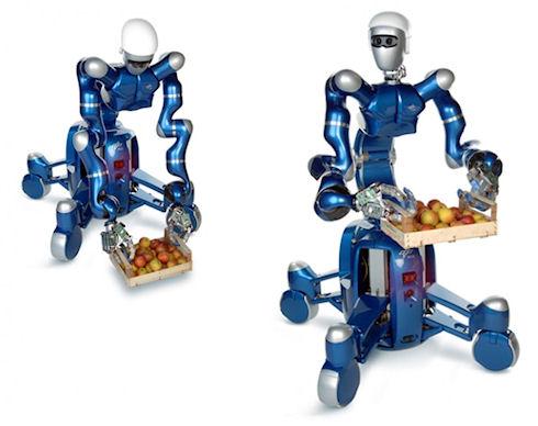 В Германии собрали человекоподобного робота TORO