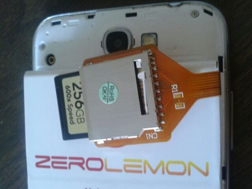 Энтузиаст «зарядил» стандартный Galaxy Note II
