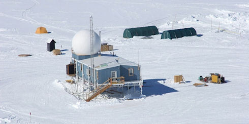 Вездеход GROVER покоряет Гренландию