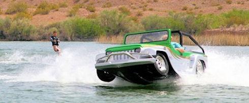 Panther – автомобиль-амфибия от WaterCar