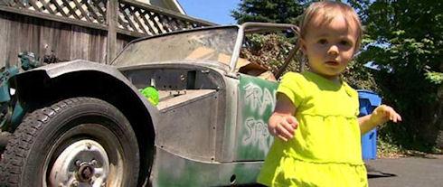 Ребенок купил на eBay раритетный автомобиль