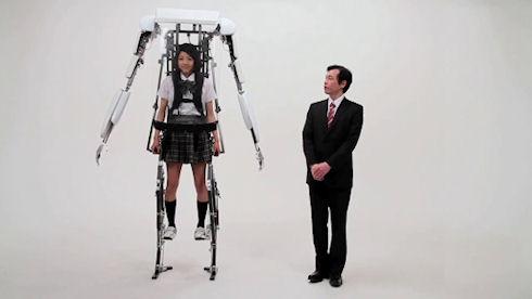 Робот-помощник Power Jacket MK3