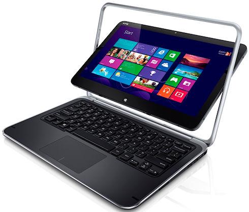Dell XPS 12 – гибридный ультрабук с поворотным дисплеем