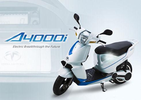 Terra Motors A4000i – скутер с поддержкой iPhone