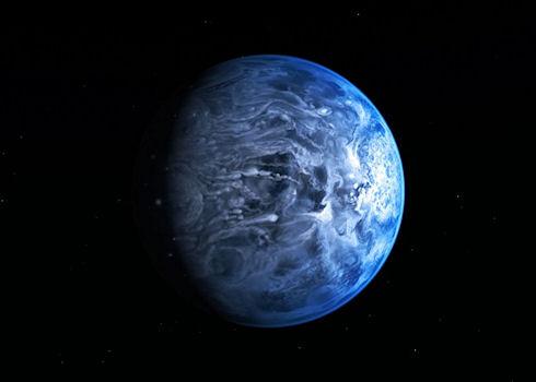Хаббл впервые «увидел» цвет экзопланеты