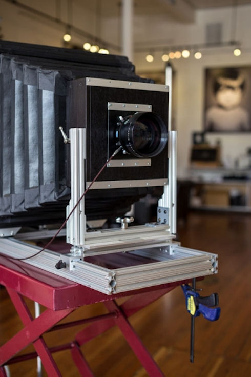 Фотограф построил камеру для создания гигапиксельных снимков