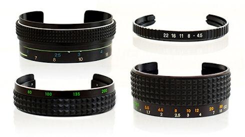 Дизайнерские браслеты из старых фотообъективов
