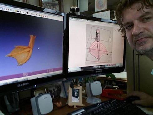 Протез лапки для гуся напечатали на 3D-принтере