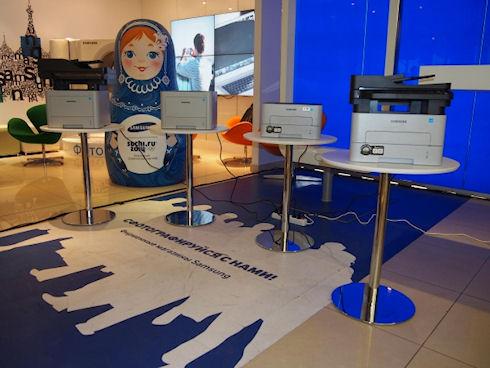 Двухъядерные принтеры Samsung с поддержкой Wi-Fi