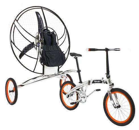 XploreAir Paravelo – велосипед и параплан в одном флаконе