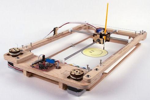 WaterColorBot – принтер для рисования акварелью