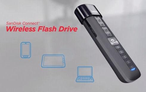 SanDisk Connect – беспроводной накопитель с поддержкой USB