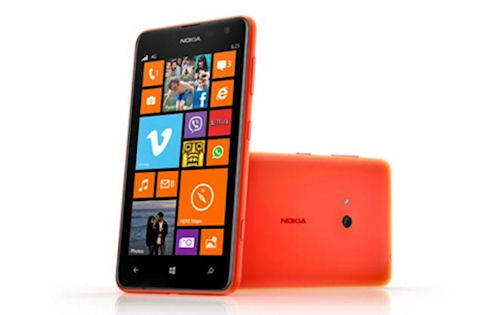 Новая Nokia Lumia 625